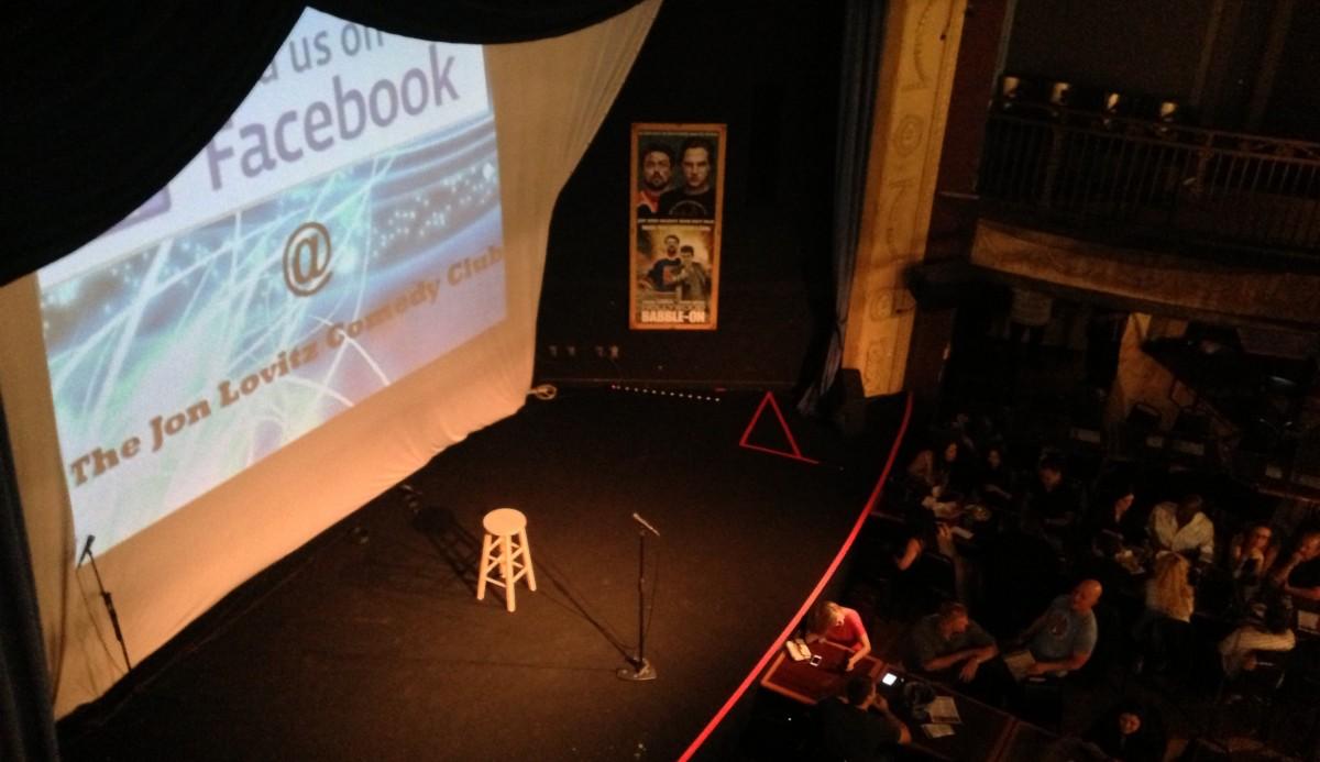 Jon Lovitz Stage @ Universal CityWalk